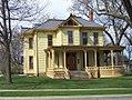 Yellow house in Sherman Hill neighborhood, Des Moines, Iowa.jpg
