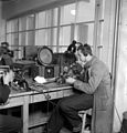 Yleisradio's repair workshop, ca 1930.jpg
