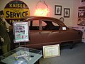 Ypsilanti Automotive Heritage Museum August 2013 34 (1953 Kaiser Manhattan body).jpg