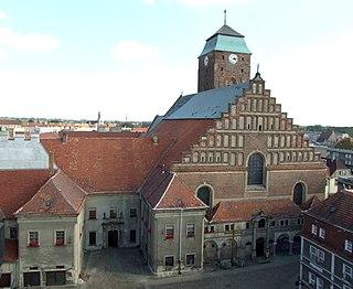 Church in Żagań, Poland