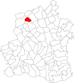 Vị trí của Zâmbreasca