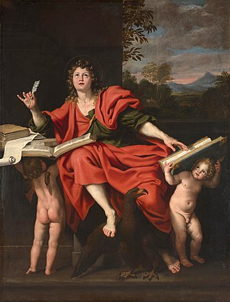 Domenichino - St. John the Evangelist, c. 1621–29