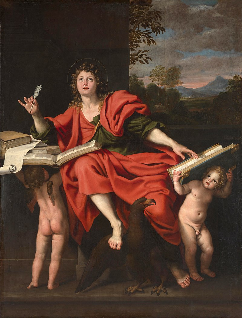 """St John the Evangelist"" by Domenichino (Domenico Zampieri), 1620s"