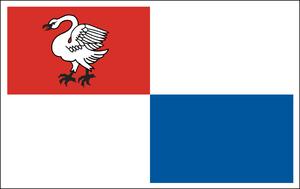 Zbąszyń - Image: Zbąszyń flaga