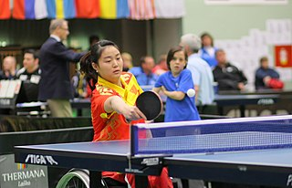 Zhang Miao (table tennis) Chinese para table tennis player