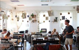 Anti-café - Ziferblat, one of the first anti-cafés