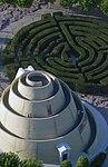 Zikkurat Galéria légi felvételen.jpg