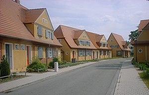 Zschornewitz - Image: Zschornewitz Kolonie