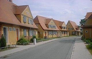 Zschornewitz Ortsteil of Gräfenhainichen in Saxony-Anhalt, Germany