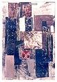 """""""Płaszczyzny IV"""", monotypiabibułka japońska, 1960 Wieńczysław Mazuś.jpg"""