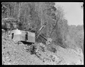"""Power shovel on roadway on hillside at Norris Dam site."" - NARA - 532702.tif"