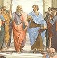 """""""The School of Athens"""" by Raffaello Sanzio da Urbino (cropped).jpg"""