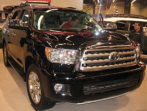 Toyota Sequoia - 2011 Toyota Sequoia at the Montreal International Auto Show in 2011