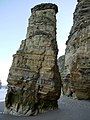 'Lot's Wife' sea-stack, Marsden Bay - geograph.org.uk - 1637633.jpg