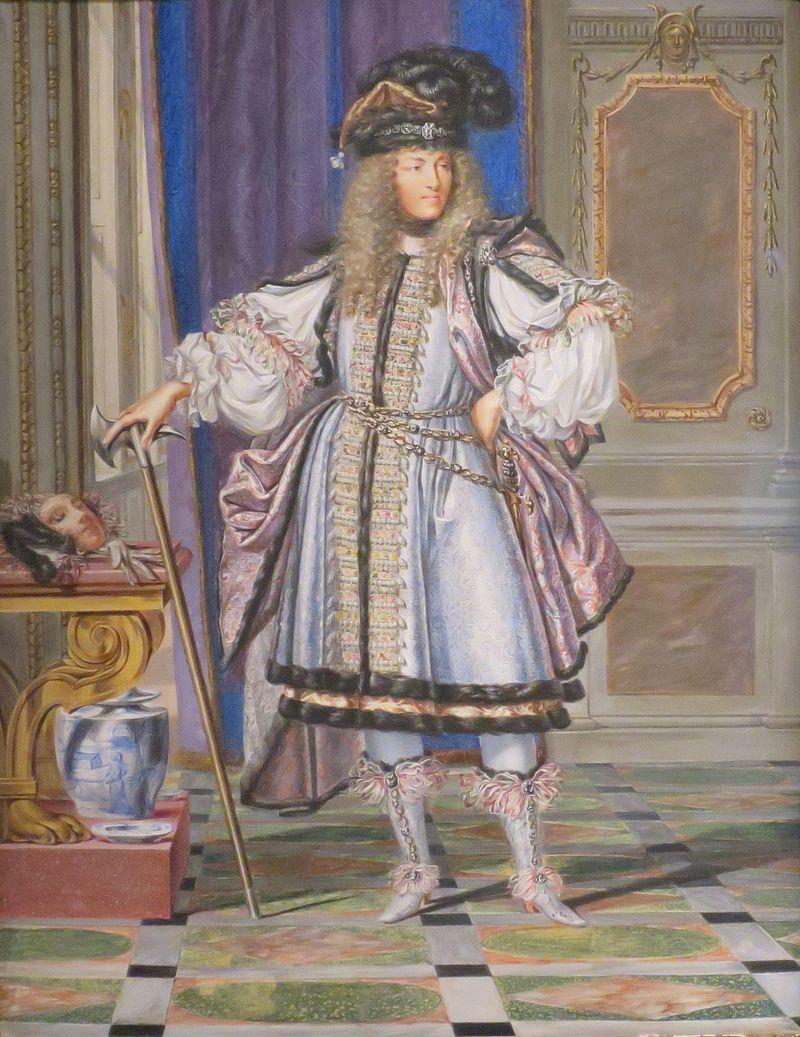 'Людовик XIV в костюме' Джозеф Вернер, Нортона Саймона Museum.JPG