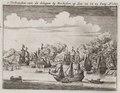 't Verbranden van de Schepen bij Rochester op den 22 en 23 Iunÿ A 1669, objectnr A 18206.tif