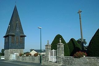 Saint-André-de-Bohon Commune in Normandy, France