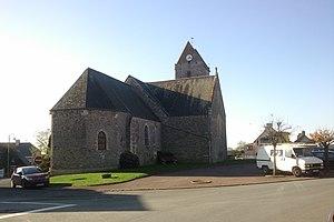 L'église Saint-Mathurin.