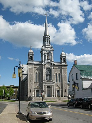 Grand-Mère, Quebec - Saint-Paul church in Grand-Mère