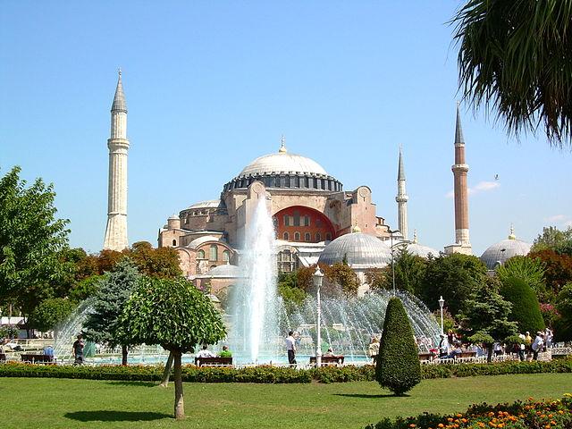see: Hagia Sophia (Istanbul)