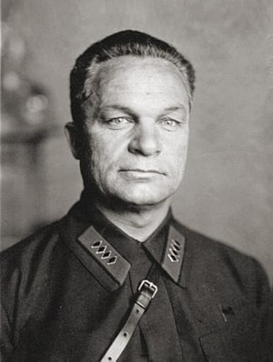 Alexander Yegorov (military) - Alexander Yegorov, here shown wearing the insignia of Komandarm second class (2 ranks below Marshal)