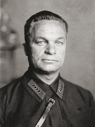 Alexander Yegorov (soldier) - Alexander Yegorov, here shown wearing the insignia of Komandarm second class (2 ranks below Marshal)