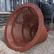Бутара, изготовленная из биметалла, имеет повышенную износостойкость
