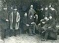 В. Котарбинский (справа второй) в компании М. Антокольского, П. Сведомского, И. Селезнёва, Н. Пимоненко, В. Поленова.jpg
