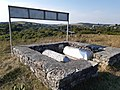 Еврейське кладовище у Сатанові, могили рабинів Хаїма і Менахема Менделя 2.jpg