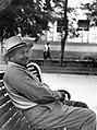 И. Баграмян на отдыхе в подмосковном военном санатории Архангельское.jpg