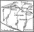 Карта-схема к статье «Краснокутск». Военная энциклопедия Сытина (Санкт-Петербург, 1911-1915).jpg