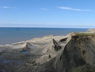 Kolguyev Island - Kolguyev Island. Coastal landscape.