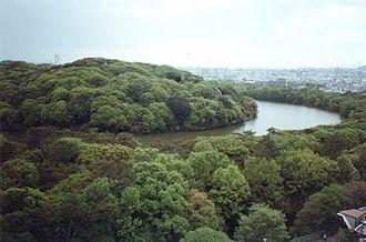 Emperor Nintoku - Daisen-Kofun, side view