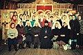 Настоятель прихода с первыми сёстрами сестричества во имя прп. Евфросинии Полоцкой.jpg