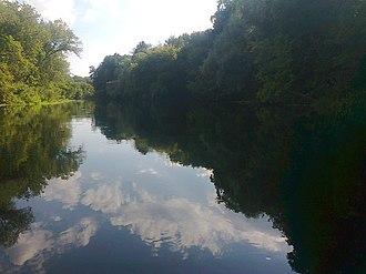 Volokonovsky District - The Oskol River near the work settlement of Pyatnitskoye in Volokonovsky District