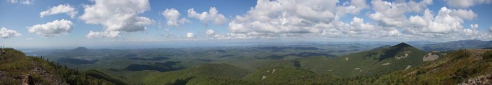 Панорама с Криничной