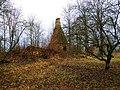Развалины домика герцога Екаба Hercoga Jēkaba medību pils drupas (4) - Bontrager - Panoramio.jpg