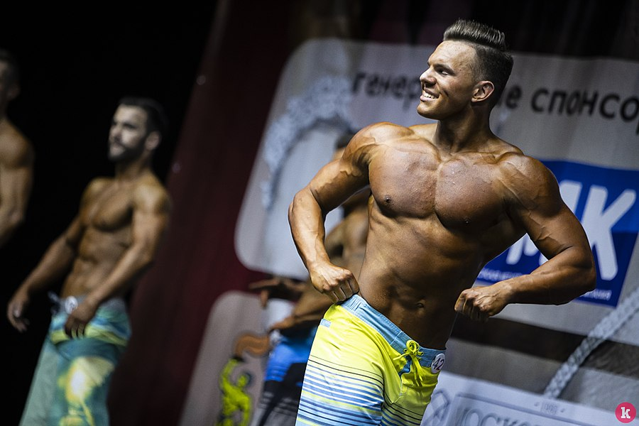 Сhampionship of the Kaliningrad area on bodybuilding 25.jpg