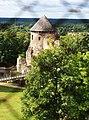 Цесис (Латвия) Вид на зАмок с башни Собора Святого Иакова - panoramio.jpg