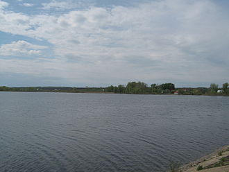 Volzhsky District, Samara Oblast - Chyornovskoye Reservoir in Volzhsky District