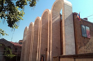 House-Museum of Aram Khachaturian musical museum in Yerevan, Armenia