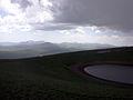 Արմաղան լեռը, տեսարան գագաթից.JPG
