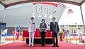 04.13 總統出席「海軍新型兩棲船塢運輸艦命名暨下水典禮」 - Flickr id 51113694895.jpg