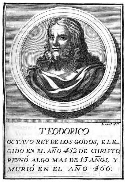 Retrato imaginario de Teodorico II.