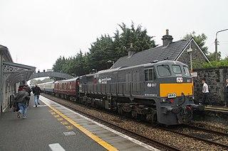 Castlerea railway station