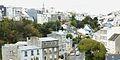 097 Brest-Saint-Marc Rue Pierre Sémard et quartier de Poul-ar-Bachet vus du pont du Forestou.JPG