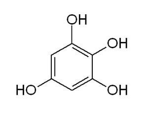 1,2,3,5-Tetrahydroxybenzene - Image: 1,2,3,5 tetrahydroxybenzene