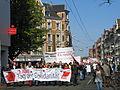 1. Mai 2013 in Hannover. Gute Arbeit. Sichere Rente. Soziales Europa. Umzug vom Freizeitheim Linden zum Klagesmarkt. Menschen und Aktivitäten (038).jpg