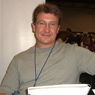 Brian Haberlin - Haberlin at the New York Comic Con in Manhattan, October 10, 2010.