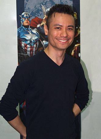 Jim Cheung - Cheung at the New York Comic Con